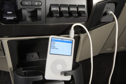 Ford Super Duty MP3 jack