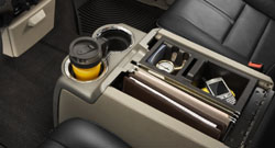 Ford Super Duty storage