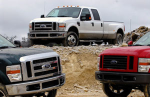 Ford Super Duty trio
