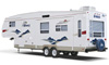 Jayco Eagle fifth-wheel trailer